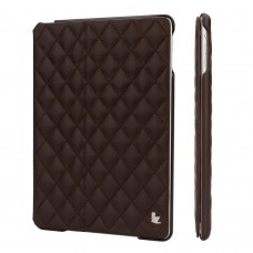 Чехол JIsonCase Quilted Leather Smart Case BROWN для iPad Air