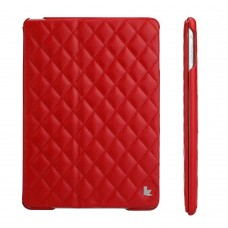 Чехол JIsonCase Quilted Leather Smart Case RED для iPad Air