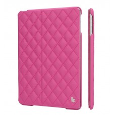 Чехол JIsonCase Quilted Leather Smart Case ROSE для iPad Air