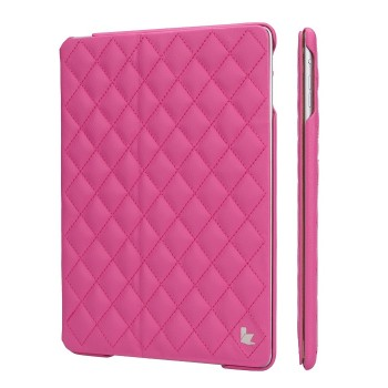 JIsonCase Quilted Leather Smart Case ROSE для iPad Air