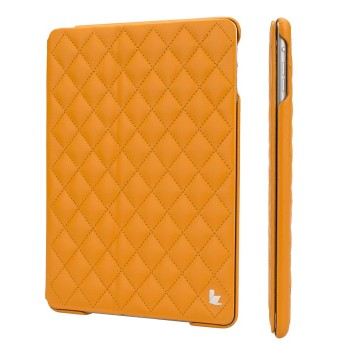 Чехол JIsonCase Quilted Leather Smart Case Оранжевый для iPad Air