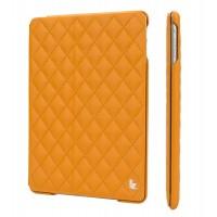 Чехол JIsonCase Quilted Leather Smart Case Оранжевый для iPad Air