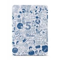 Чехол OZAKI O!coat Relax 360°BLUE для iPad Air