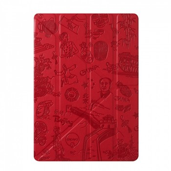 Чехол Ozaki O!coat Travel Beijing Red для iPad Air