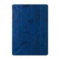 Чехол Ozaki O!coat Travel London Dark Blue для iPad Air