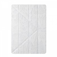 Чехол Ozaki O!coat Travel Moscow White для iPad Air