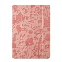 Чехол Ozaki O!coat Travel Paris Pink для iPad Air