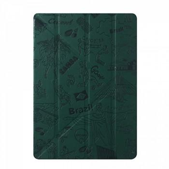 Чехол Ozaki O!coat Travel Rio de Janeiro Dark Green для iPad Air