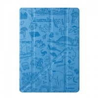 Чехол Ozaki O!coat Travel Sydney Blue для iPad Air