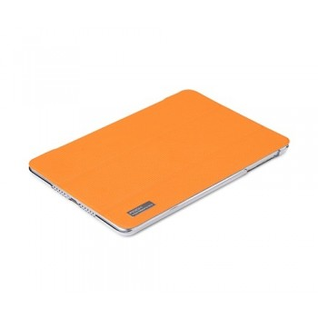 Чехол ROCK Elegant Side Flip Case ORANGE для iPad Air