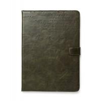 Чехол ZENUS Masstige Lettering Diary Series DEEP KHAKI для iPad Air