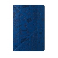 Чехол Ozaki O!coat Travel London Dark Blue для iPad mini 4