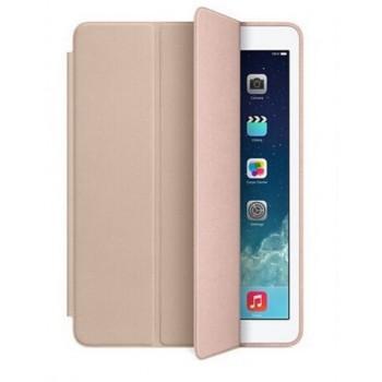 Чехол Apple Leather Smart Case Beige для iPad Mini 4