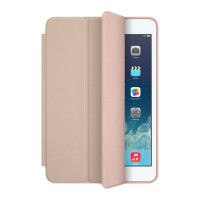 Чехол Apple Leather Smart Case BEIGE для iPad Mini/ Mini 2/ Mini 3