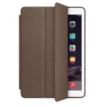 Чехол Apple Leather Smart Case Dark Brown для iPad mini 3/iPad mini 2/iPad mini