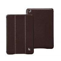 Чехол JisonCase Classic Smart Cover BROWN для iPad Mini/Mini Retina