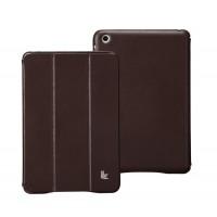 Чехол JisonCase Classic Smart Cover BROWN для iPad Mini/Mini Retina