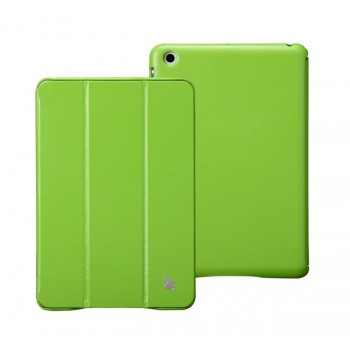 Чехол JisonCase Classic Smart Cover GREEN для iPad Mini/Mini Retina