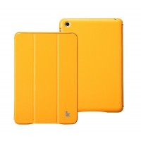 Чехол JisonCase Classic Smart Cover ORANGE для iPad Mini/Mini Retina