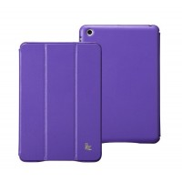 Чехол JisonCase Classic Smart Cover PURPLE для iPad Mini/Mini Retina