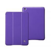 Чехол JisonCase Classic Smart Cover PURPLE для iPad Mini/Mini Retina