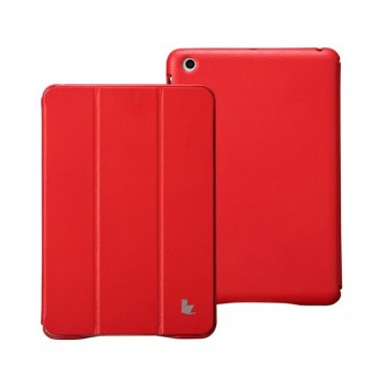 Чехол JisonCase Classic Smart Cover RED для iPad Mini/Mini Retina