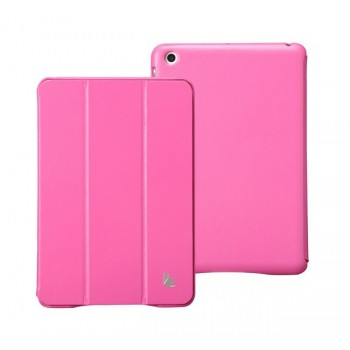 Чехол JisonCase Classic Smart Cover ROSE для iPad Mini/Mini Retina