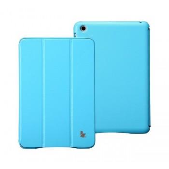 Чехол JisonCase Classic Smart Cover SKY BLUE для iPad Mini/Mini Retina