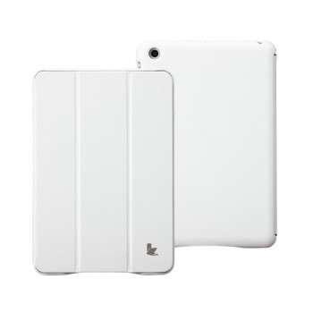 Чехол JisonCase Classic Smart Cover WHITE для iPad Mini/Mini Retina