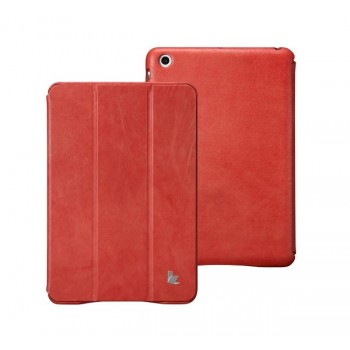 Чехол Mobler Vintage Smart Cover RED для iPad Mini/Mini Retina