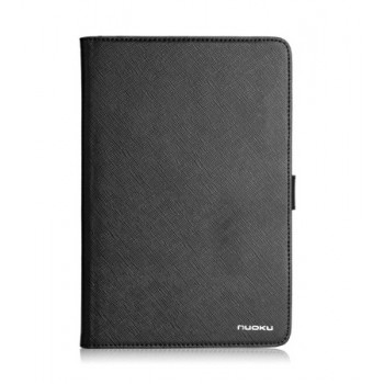 Чехол NUOKU BOOK Series Exclusive Leather Case BLACK для iPad Mini