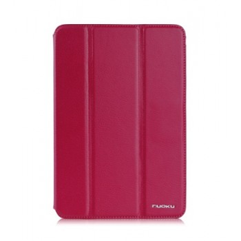 NUOKU GRACE Series Exclusive Leather Case PINK для iPad Mini