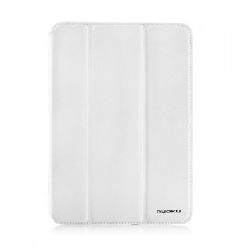 Чехол NUOKU GRACE Series Exclusive Leather Case WHITE для iPad Mini