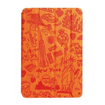 Чехол Ozaki O!coat Travel New York Orange  для iPad Mini/Mini Retina