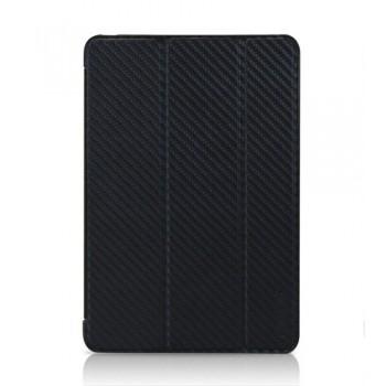 Чехол TUNEWEAR Carbon Look with Front cover BLACK для iPad Mini