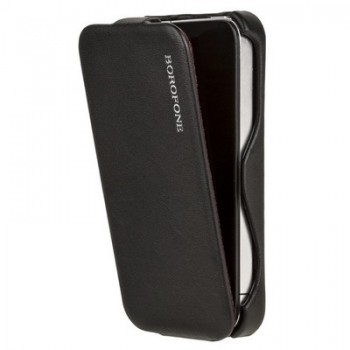 Чехол Borofone Leader Series Lieutenant Black для iPhone 4/4S