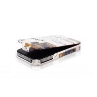 Чехол Borofone Street Style Folder White для iPhone 4/4S