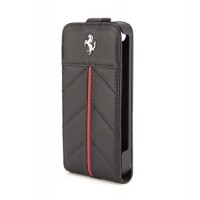 Чехол Ferrari California Flip Leather Case BLACK для iPhone 4/4S