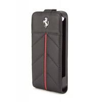 Чехол Ferrari California Flip Leather Case BLACK для iPhone 4/4S