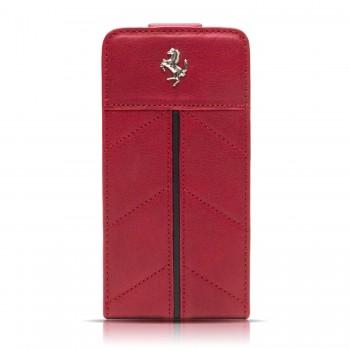 Чехол Ferrari California Flip Leather Case RED для iPhone 4/4S