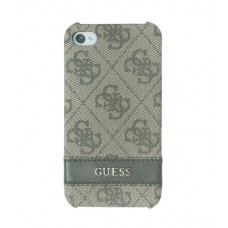 GUESS Back Cover BROWN для iPhone 4/4S
