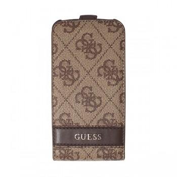 Чехол GUESS Flip Case BROWN для iPhone 4/4S