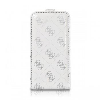 Чехол GUESS Flip Case WHITE для iPhone 4/4S
