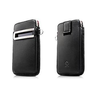 Чехол CAPDASE Smart Pocket Callid BLACK для iPhone 4/4S