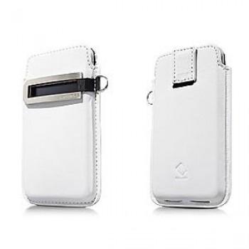 Чехол Карман Capdase Smart Pocket Callid White для iPhone 4/4S
