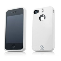 CAPDASE Polimor Protective Case WHITE для iPhone 4