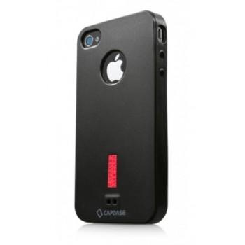 Чехол пластиковый Capdase Soft Jacket 2 Xpose Black для iPhone 4/4S