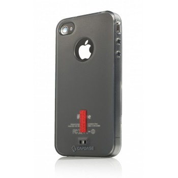 Чехол пластиковый Capdase Soft Jacket 2 Xpose Tined Black для iPhone 4/4S