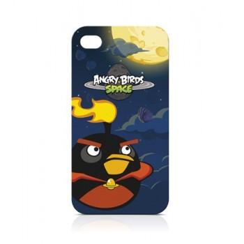 Чехол пластиковый Gear4 Angry Birds Protective Case Space Bird FIRE BOMB для iPhone 4/4S