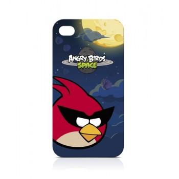 Чехол пластиковый Gear4 Angry Birds Protective Case Space Bird RED для iPhone 4/4S